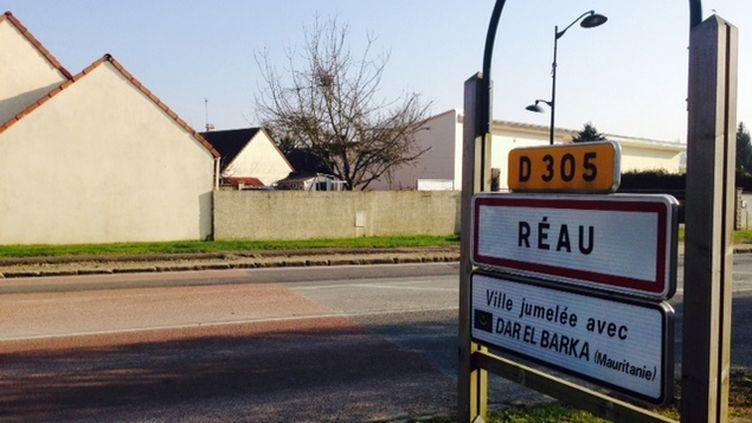 (Réau est un village de 1.500 âmes en Seine-et-Marne, dirigé par une mairie divers droite. © Anne-Laure Dagnet/RadioFrance)