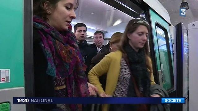 """""""Stop - ça suffit"""", une campagne contre le harcèlement des femmes dans les transports"""
