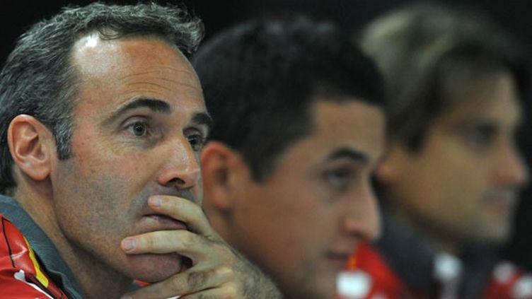 Le sélectionneur espagnol Alex Corretja