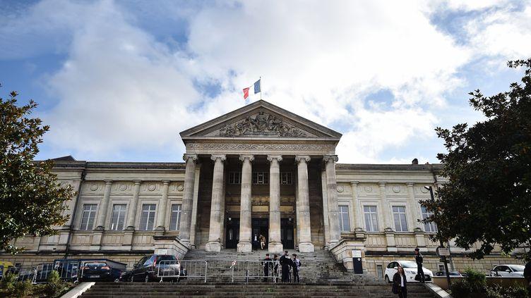 Le tribunal d'Angers, en 2016. (JEAN-SEBASTIEN EVRARD / AFP)