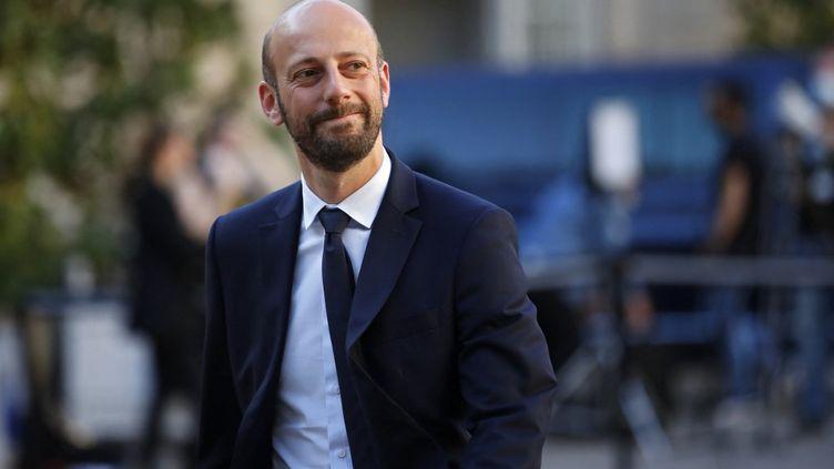 Le délégué général de La République en marche, Stanislas Guerini, le 20 mai 2020 à Paris. (THOMAS COEX / AFP)