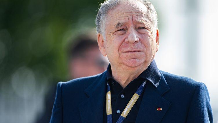 Jean Todt, le président de la Fédération internationale de l'automobile sur le Grand Prix de Monza en Italie, le 01 décembre 2019. (ALESSIO MORGESE / IPA / MAXPPP)