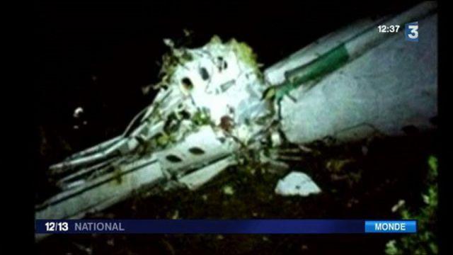 Colombie : crash d'un avion transportant une équipe de foot brésilienne