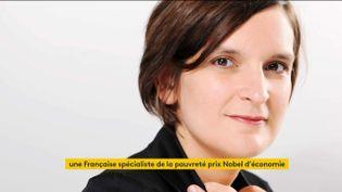 Esther Duflo (FRANCEINFO)