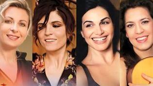 Natalie Dessay, Agnès Jaoui, Helena Noguerra, Liat Cohen  (Capture écran / YouTube)