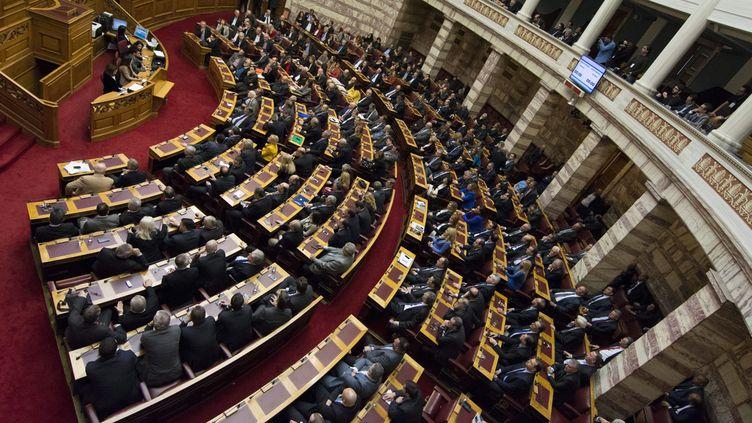 (Le Parlement grec sera automatiquement dissous d'ici dix jours © MaxPPP)