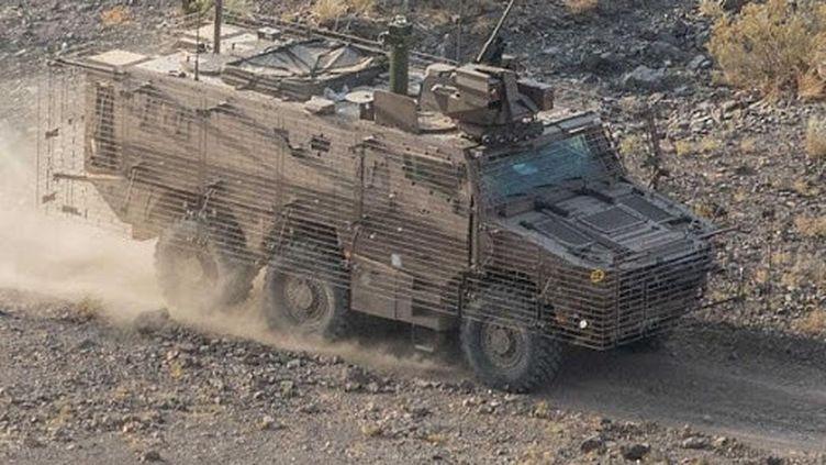 Le Griffon, lors de sa phase de tests à Djibouti, en septembre 2020 (ARMEE DE TERRE)