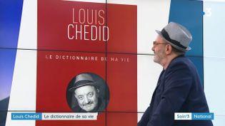 Louis Chedid et son livre (France 3)
