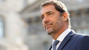 Le ministre de l'Intérieur, Christophe Castaner, le 20 août 2019 à Paris. (THOMAS SAMSON / AFP)
