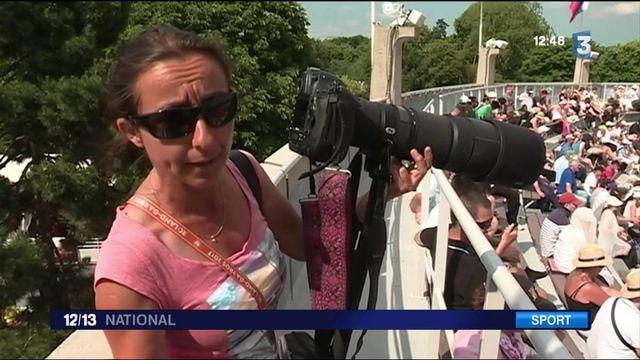 Roland-Garros : dans l'œil des photographes