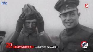Image d'archives du 11 novembre 1914. ( FRANCE 2)