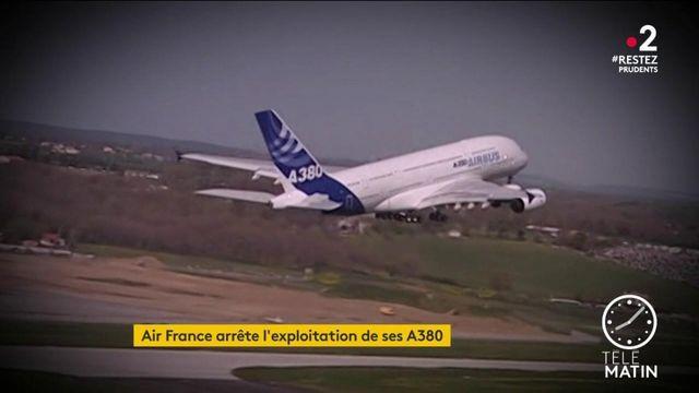 Air France arrête l'exploitation de ses A380