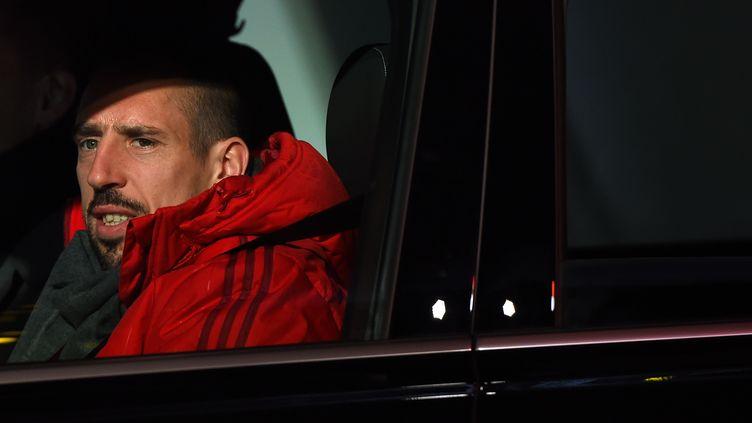 L'attaquant français du Bayern MunichFranck Ribéry, le 25 novembre 2015, à Munich (Allemagne). (CHRISTOF STACHE / AFP)