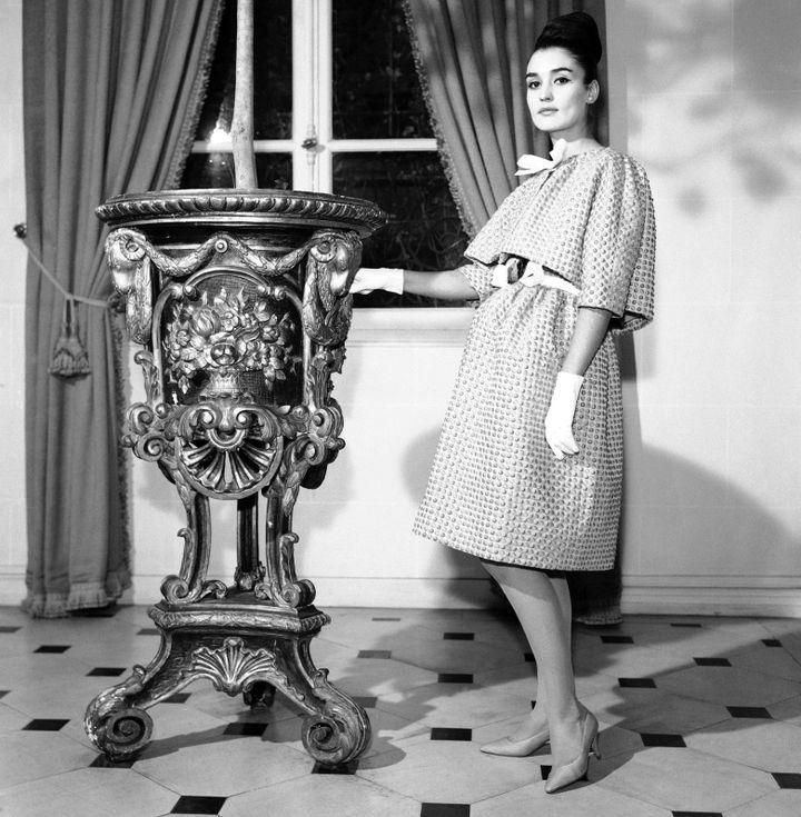 Modèle Hubert de Givenchy, 1962  (AP/SIPA)