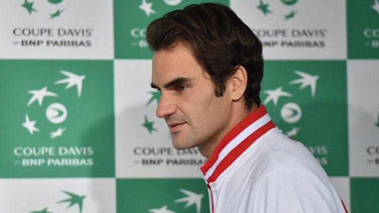 Roger Federer (PHILIPPE HUGUEN / AFP)