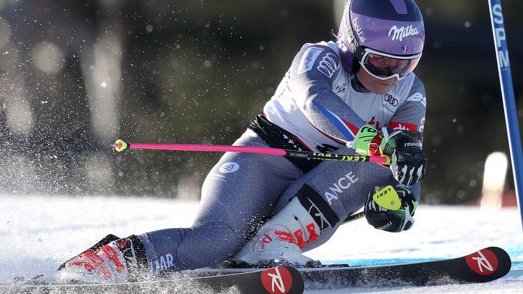 La Française Tessa Worley lors du slalom géant de Killington.