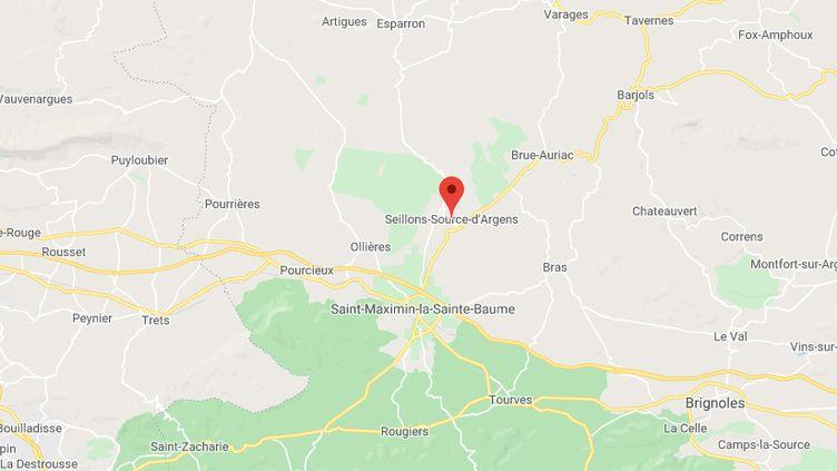 Seillons-Source-d'Argens (Var) (GOOGLE MAPS)