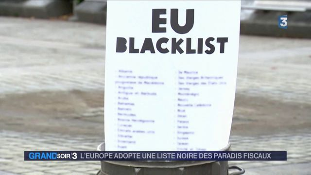 Paradis fiscaux : la petite liste noire de l'UE