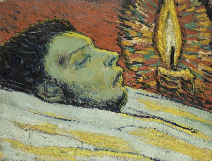 "Pablo Picasso, ""La Mort de Casagemas"", 1901, Paris, Musée national Picasso-Paris, service de presse Musée national Picasso-Paris  (Photo © RMN-Grand Palais (Musée national Picasso-Paris) / Mathieu Rabeau © Succession Picasso 2018)"