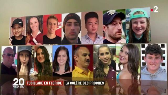Fusillade en Floride : la colère des proches
