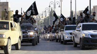 Des combattants islamistes paradent à Raqqa en Syrie, le 30 juin 2014. (REUTERS)
