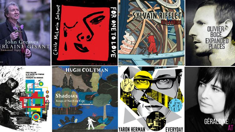 Huit albums, parmi les nombreux d'une rentrée 2015 très dense...  (Culturebox)