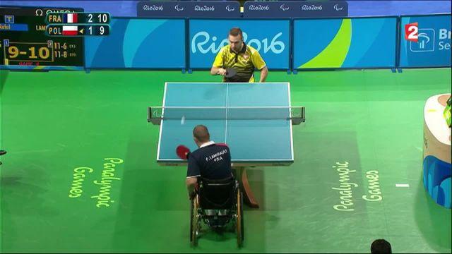 Jeux paralympiques : l'or au bout de la raquette pour Fabien Lamirault