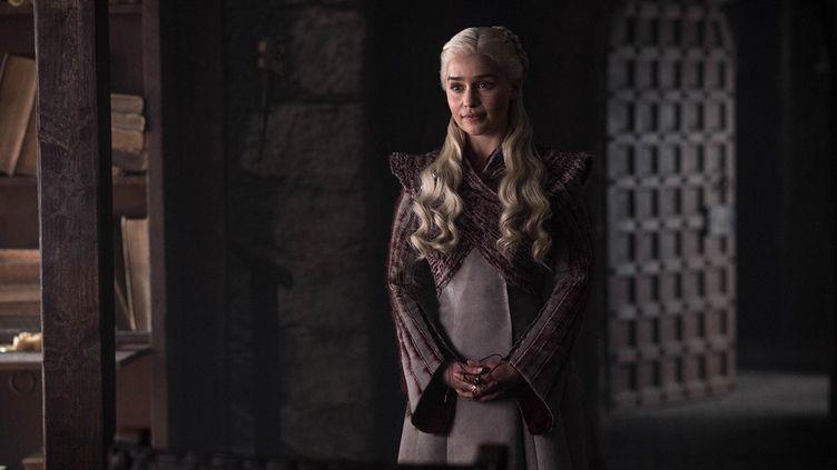 L'actrice Emilia Clarke dans le rôle deDaenerys Targaryen. (HBO)