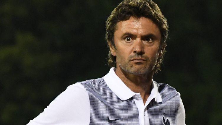Le sélectionneur de l'équipe de France Espoirs, Sylvain Ripoll.
