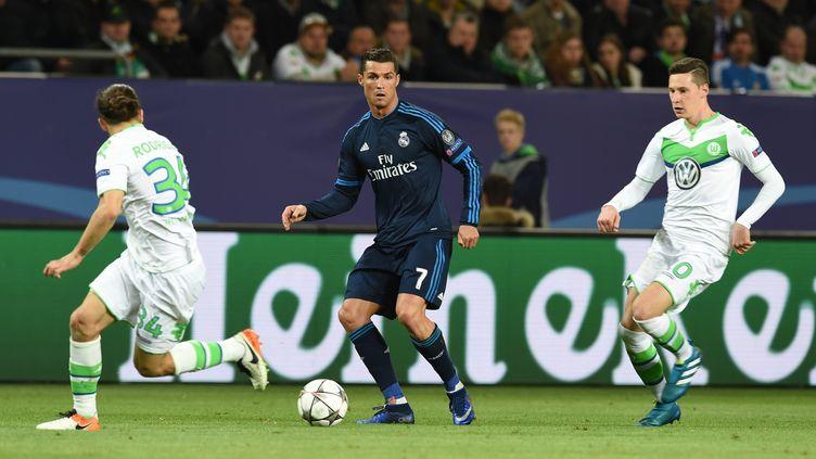 Le Real Madrid dos au mur face à Wolfsburg (CARMEN JASPERSEN / DPA)