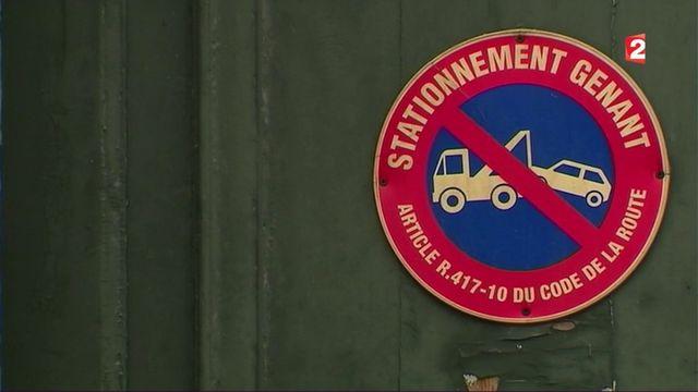 Voie publique : interdiction de stationner devant son garage