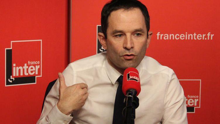 Benoît Hamon invité de la matinale grand format le 27 février 2017. (Radio France / Anne Audigier)