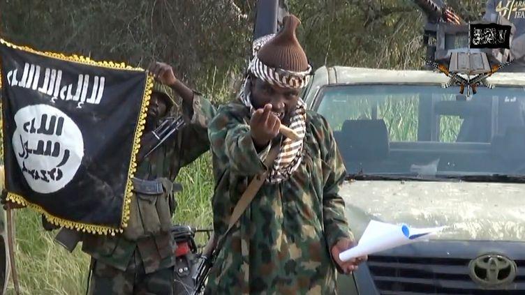 Une vidéo de la secte islamiste nigérianeBoko Haram, transmise à l'AFP le 2 octobre 2014. ( BOKO HARAM / AFP)