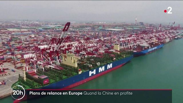 Économie : comment la Chine capte une partie des plans de relance européen