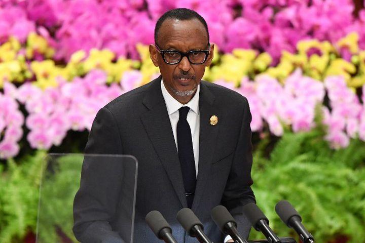 Paul Kagame, président du Rwanda (2018)  (MADOKA IKEGAMI / POOL / AFP)