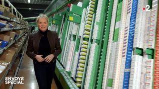 """Elise Lucet dans """"Envoyé spécial"""" du 14 novembre 2019 (ENVOYÉ SPÉCIAL / FRANCE 2)"""