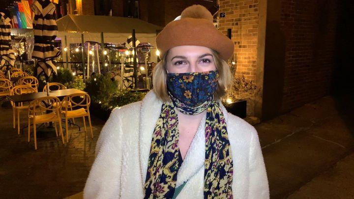 Alexa Secrest, 22 ans, documentaliste, Washington DC. (FRANCK MATHEVON / RADIO FRANCE)