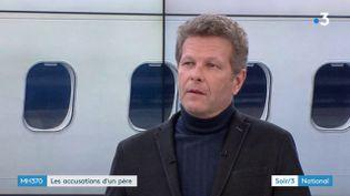 Ghyslain Wattrelos, père et mari de victimes du crash du MH370 (France 3)