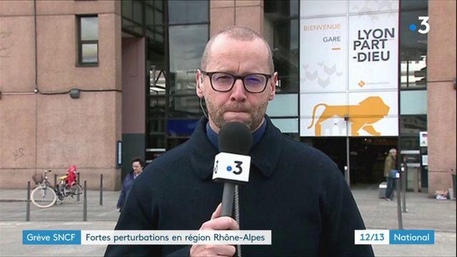 Grève SNCF : fortes perturbations en région Auvergne-Rhône-Alpes