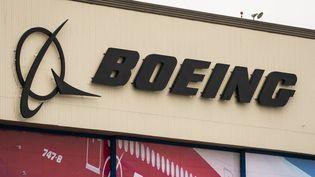 Une entreprise Boeing à Washington, le 22 février 2021. (DAVID RYDER / GETTY IMAGES NORTH AMERICA / AFP)