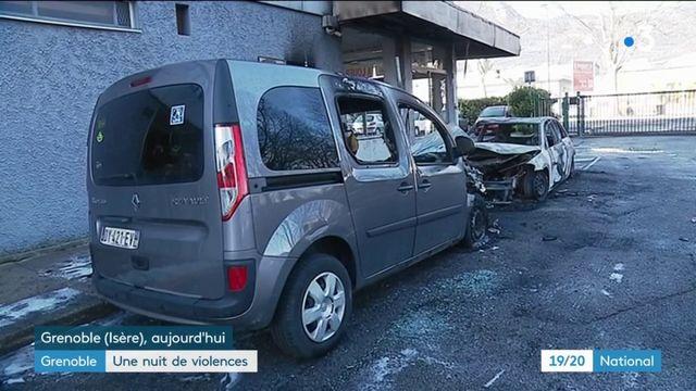 Grenoble : une nuit de violences
