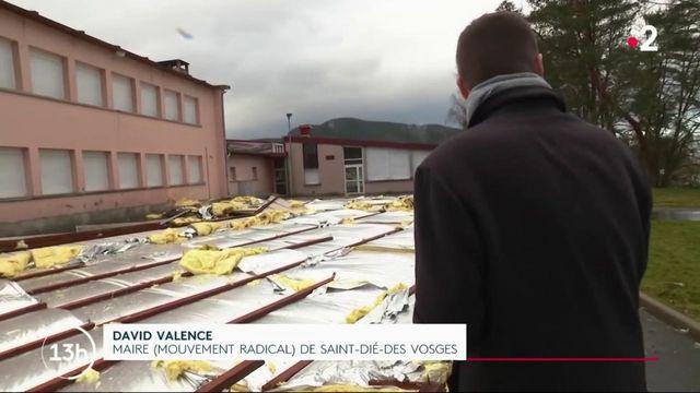 Saint-Dié-des-Vosges : des établissements scolaires endommagés par la tempête Ciara