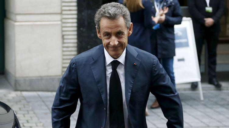 (Comment le nom de Nicolas Sarkozy s'est-il retrouvé dans le dossier Air cocaïne ? L'avocat de l'ex-président demande des comptes © REUTERS/Francois Lenoir)
