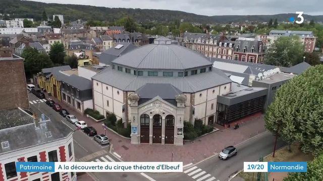 """En Normandie, l'une des derniers cirques """"en dur"""" dévoile ses secrets au public"""