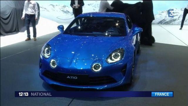 Automobile : la renaissance de l'Alpine