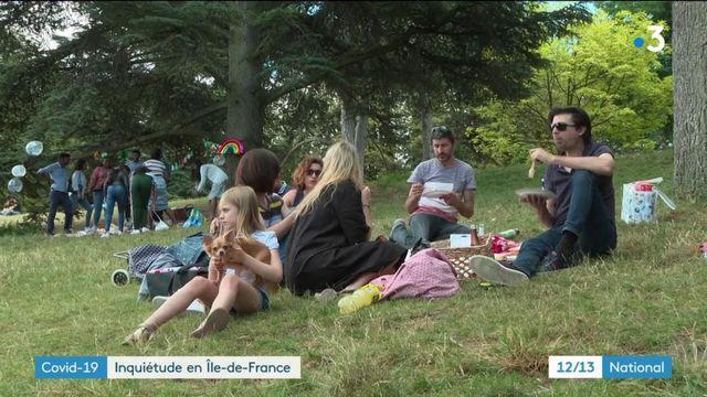 Covid-19 : de nombreux signes d'alerte en Île-de-France