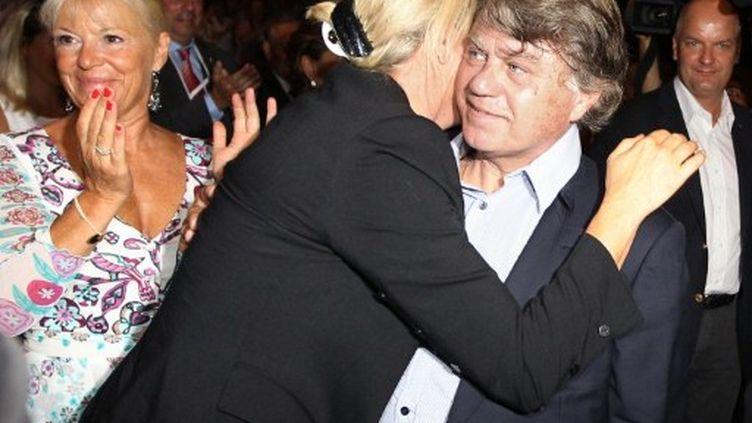 Gilbert Collard sera candidat pour Marine Le Pen (VALERY HACHE / AFP)