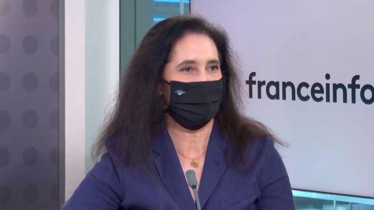 Isabelle de Silva, présidente de l'Autorité de la concurrence, invitée de franceinfo le 11 juin 2021. (FRANCEINFO / RADIO FRANCE)