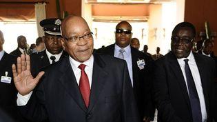 Le président sud-africain Zuma. (AFP/Stéphane de Sakutin)