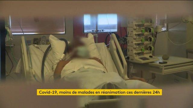 Coronavirus : des lits se libèrent en réanimation